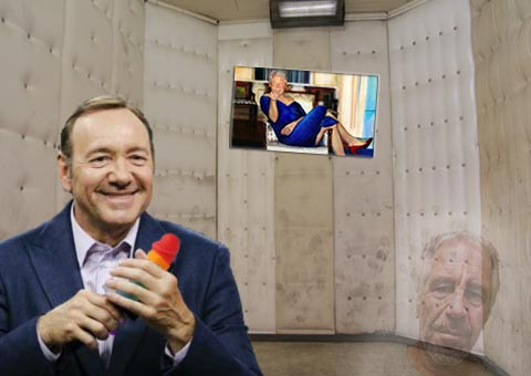 kevin spacey in cellar
