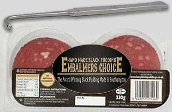 EMBALMERS CHOICE BLACK PUDDINGS
