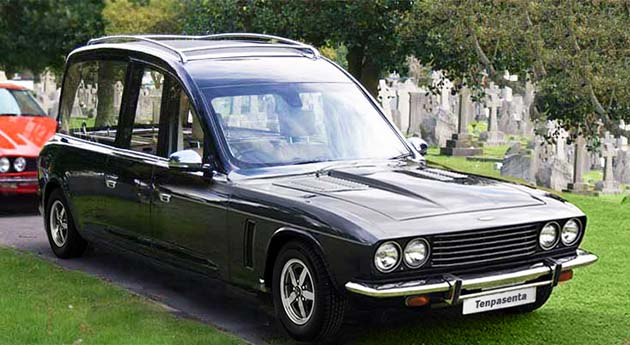 Jensen Interceptor Hearse