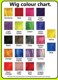 Wig colours