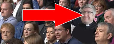 Mark Collyer in Question time Audience